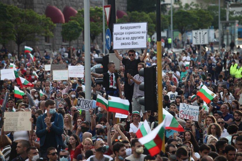България протестира – ден 82