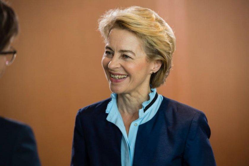 Урсула фон дер Лайен: Има шанс за споразумение за Брекзит