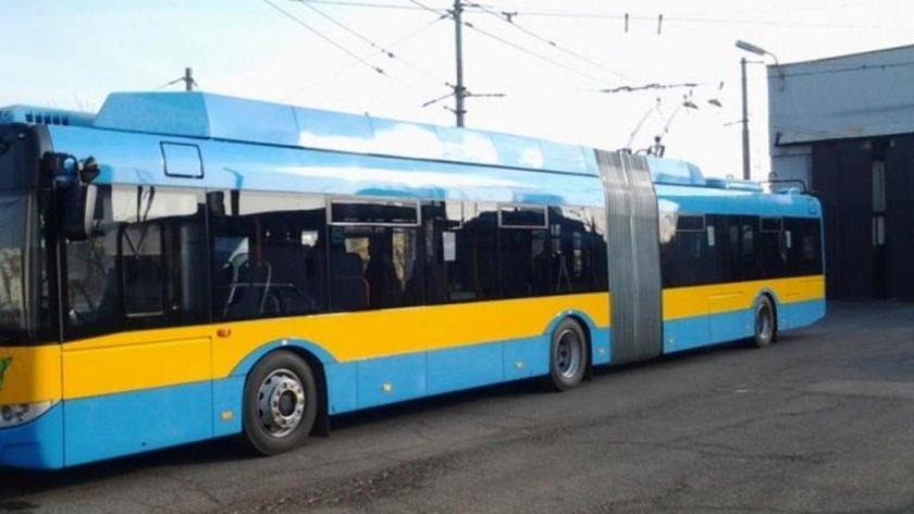 Нов тролей тръгва в София от утре