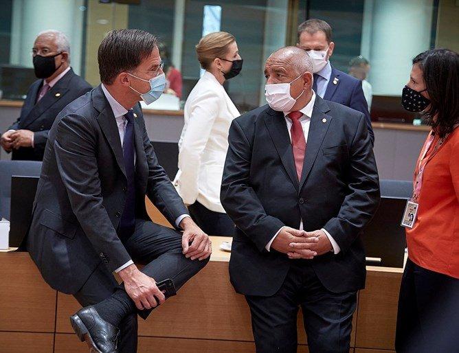 Борисов разговаря с Рюте и Курц в Брюксел