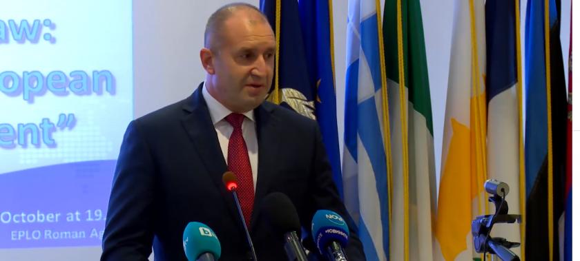 Радев: Никакви партийни интереси нямат място в конституцията (ВИДЕО)