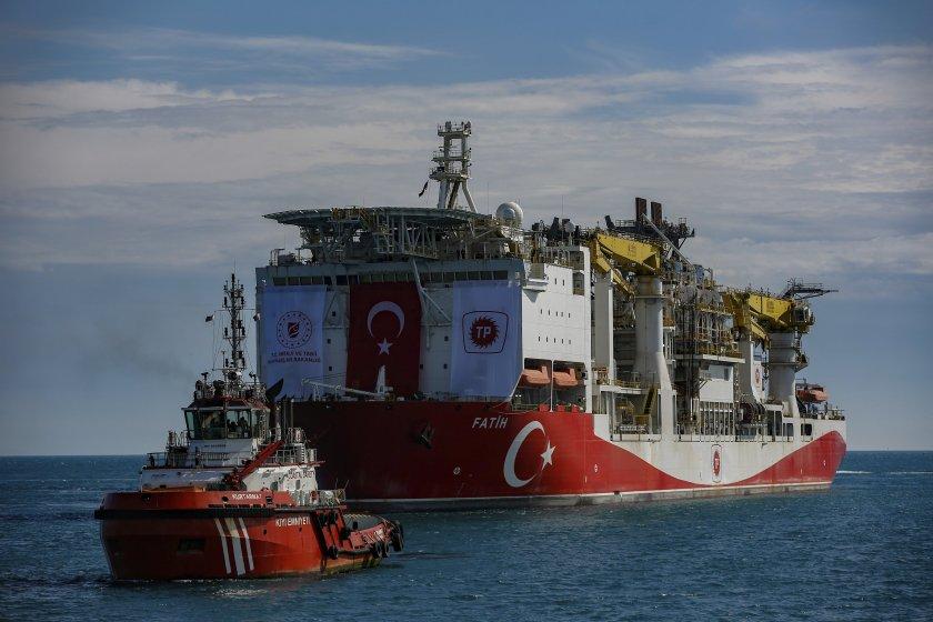 Турция открила огромно находище на газ в Черно море