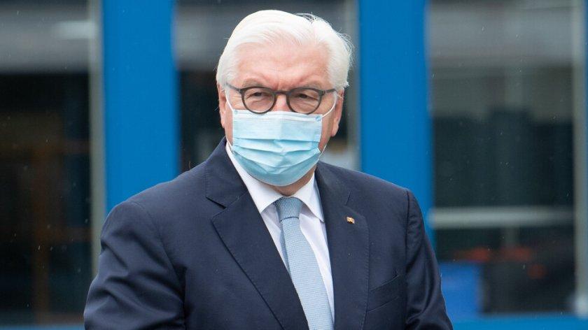 Германският президент е с COVID-19?