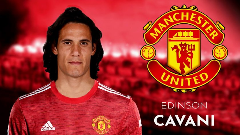 Новият червен дявол Кавани: Искам титлата с Юнайтед