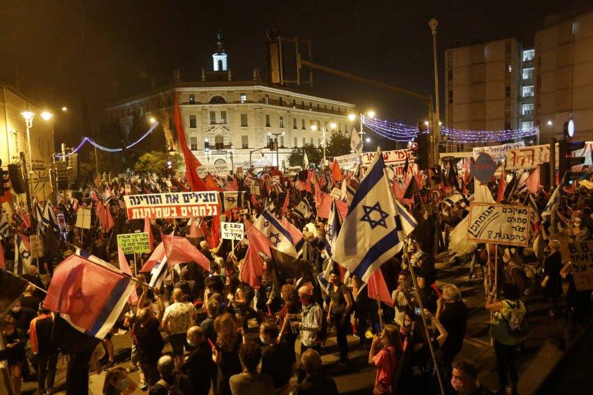 Бунтове в Израел, Нетаняху променя картата на Близкия изток