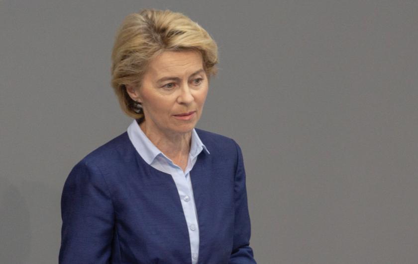 Урсула фон дер Лайен ръководи Еврокомисията от Германия