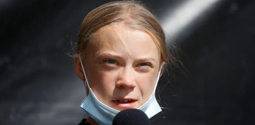 Ку-ку? Грета Тунберг стачкува срещу Covid-19