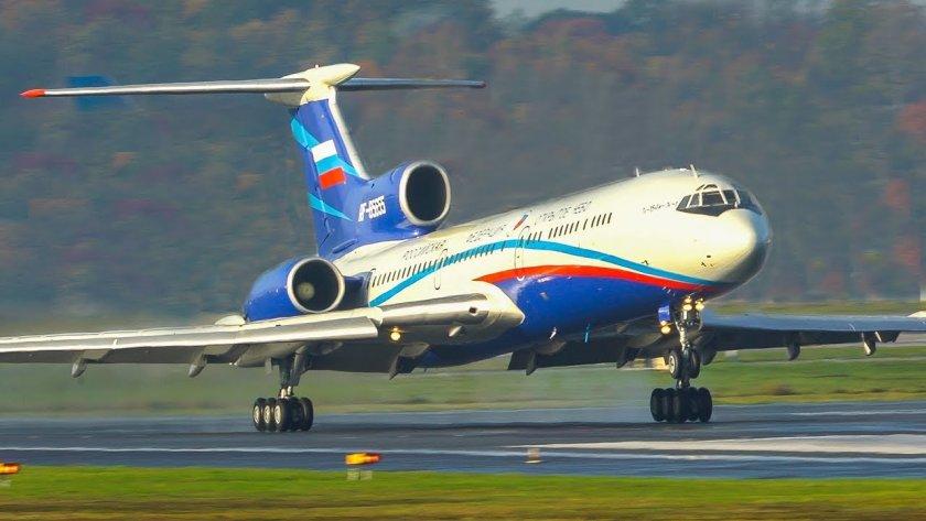 """Руският пътнически самолет Ту-154 се """"пенсионира"""""""