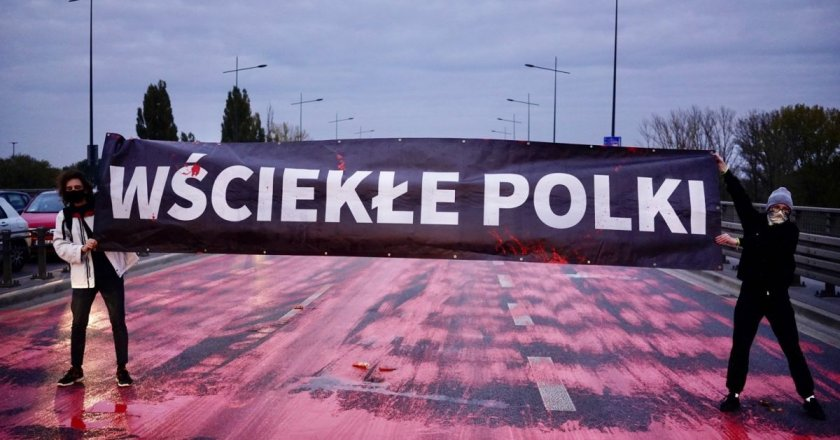 Хиляди демонстранти блокираха градове в Полша