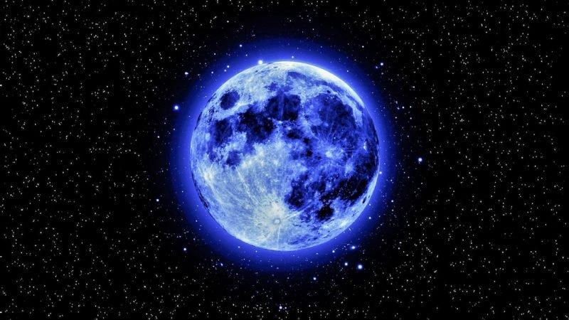 Синя луна изгрява в нощта на Хелоуин