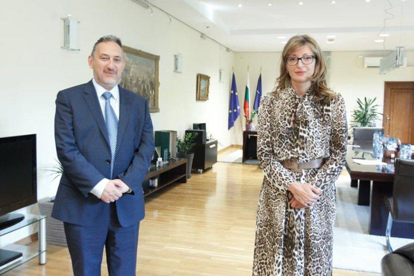 Катя Захариева смъмри Македония - не била готова за ЕС