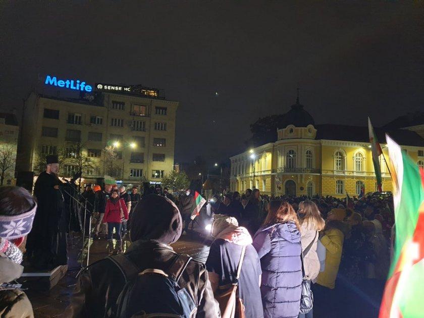 Недоволните блокираха Орлов мост, насрочиха митинг за 14-и декември