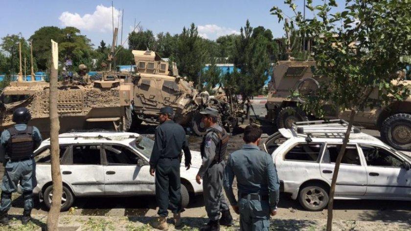 Мощна експлозия разтърси Кабул, Ислямска държава пое отговорността