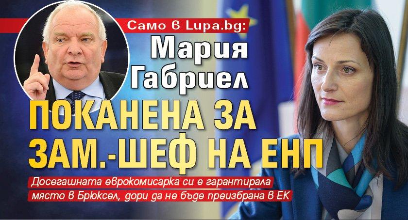 Само в Lupa.bg: Мария Габриел поканена за зам.-шеф на ЕНП