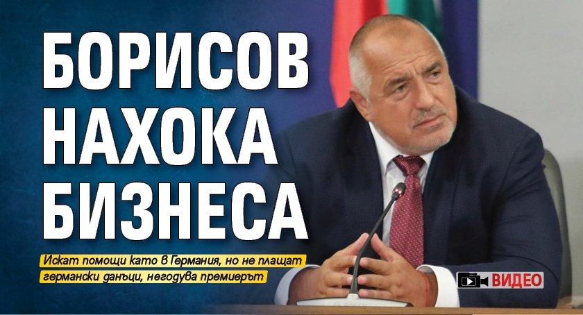 Борисов нахока бизнеса (ВИДЕО)