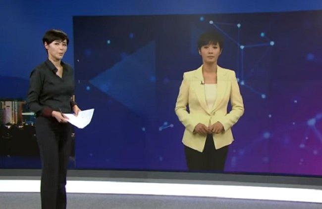 Изкуствена водеща на новините в Южна Корея