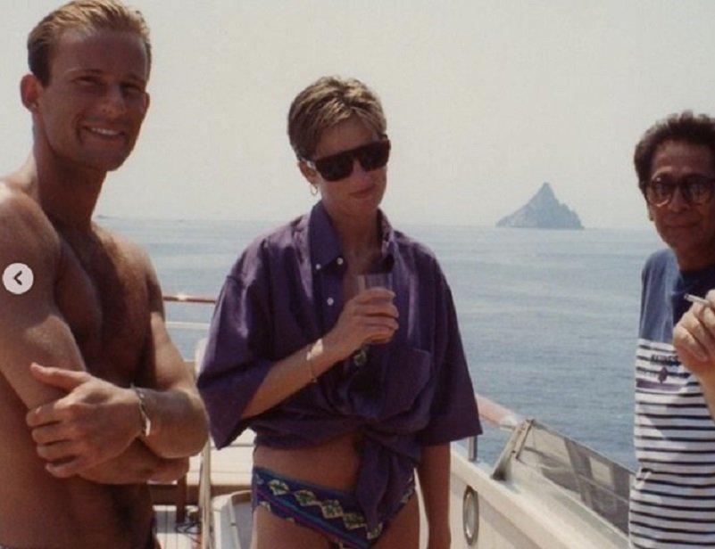 Уникална снимка! Лейди Даяна на яхта с принц Кирил