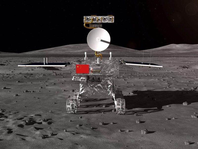Китай кацна на Луната