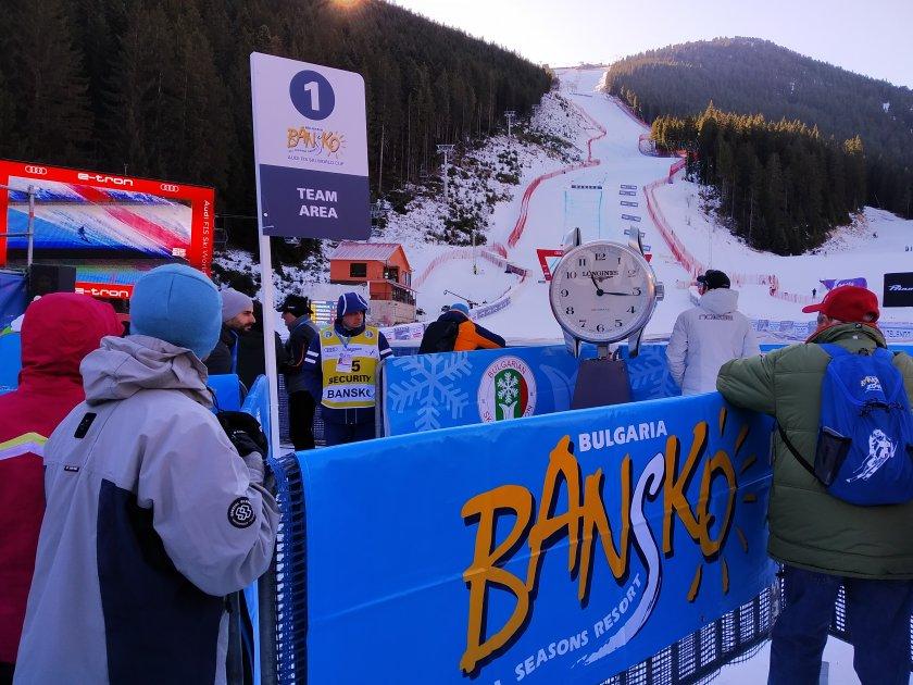 Световната купа в Банско може и да е с публика