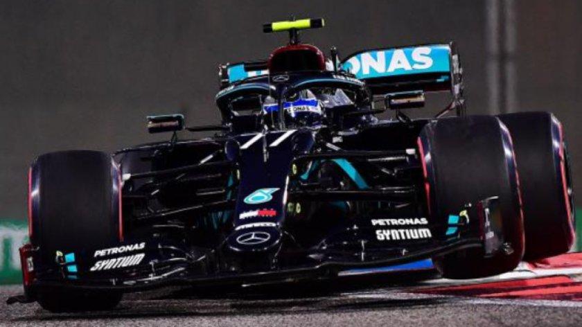 Валтери Ботас поведе след втората тренировка в Абу Даби