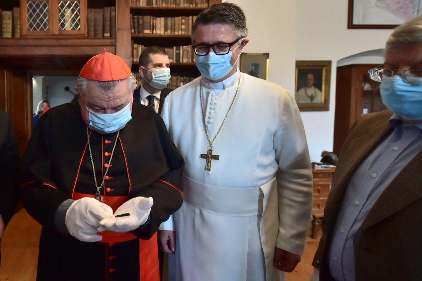Находка в Чехия! Открит е пирон от Светия Кръст /снимки/