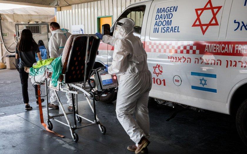 Израел с рекорд на новозаразени и ваксинирани за 24 ч.
