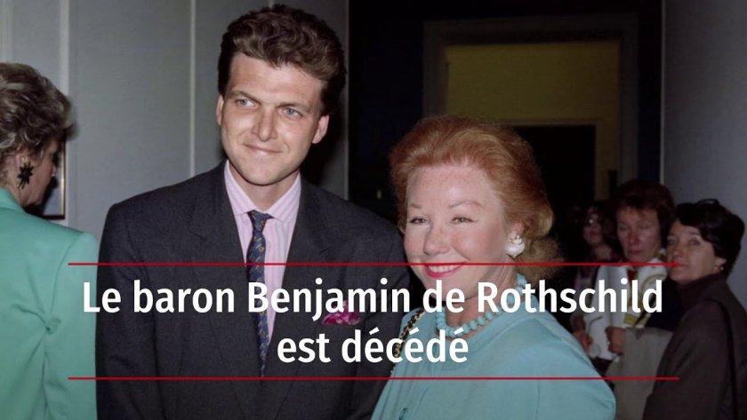 Почина милиардерът барон Бенджамин дьо Ротшилд