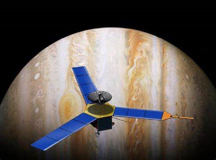 Странен сигнал идва от Юпитер