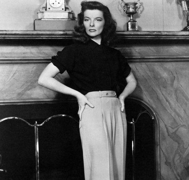 Панталоните на Катрин Хепбърн - хит тази пролет