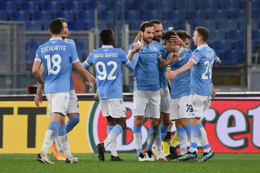 Драма класира Лацио на 1/4-финалите за Купата на Италия