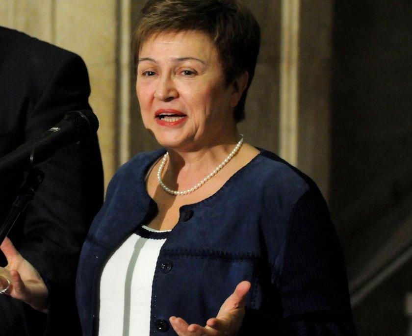 Кристалина Георгиева: Промяната на климата заплашва икономическата стабилност