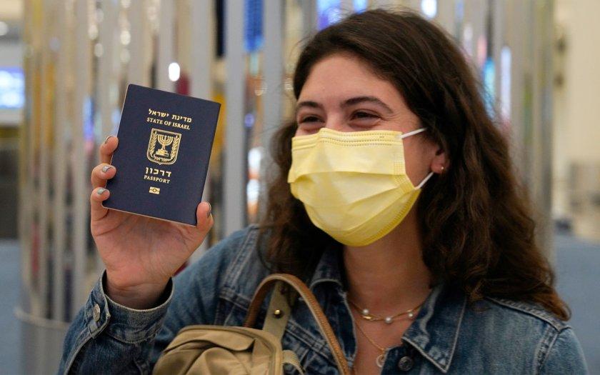 "Израел ще издава ""зелени пропуски"" на ваксинираните лица"