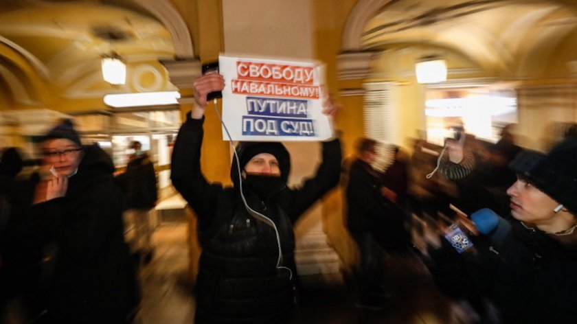 Русия: TikTok трие поголовно публикации за незаконни протести за Навални