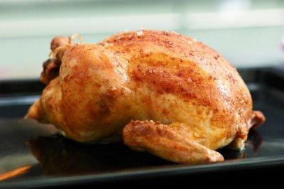 Как се реже цяло печено пиле (стъпка по стъпка)