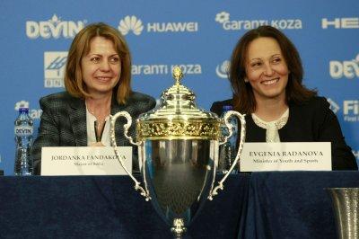Олимпийската легенда Евгения Раданова със специален приз