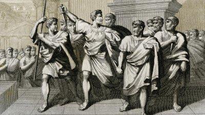 На 15 март Брут убива Цезар