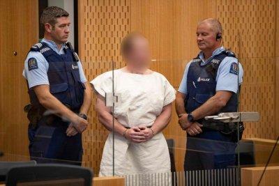 Терористът от Нова Зеландия влезе в съда