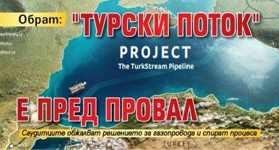 "Обрат: ""Турски поток"" е пред провал"