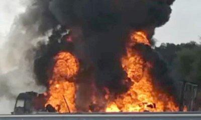 Задържаха рецидивист, запалил камиона на бизнесмен