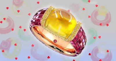 """34 хил. долара за пръстен, вдъхновен от бонбоните """"Харибо"""""""