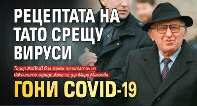 Рецептата на Тато срещу вируси гони COVID-19