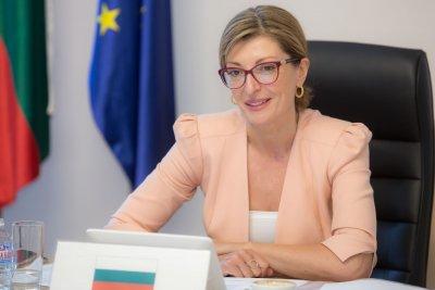 Екатерина Захариева: Чакаме разрешения от ключови държави за избирателни секции