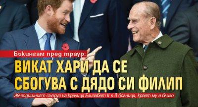 Бъкингам пред траур: Викат Хари да се сбогува с дядо си Филип