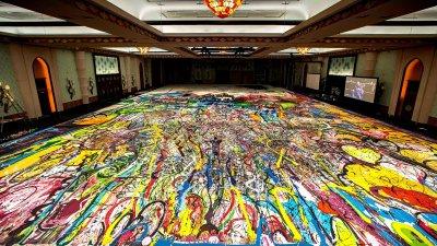Продават на търг най-голямата картина в света