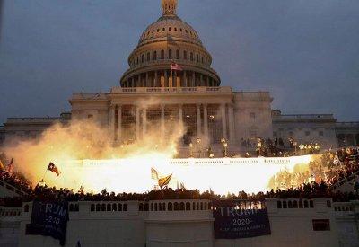 Затвориха Капитолия заради съобщение за вътрешен екстремизъм