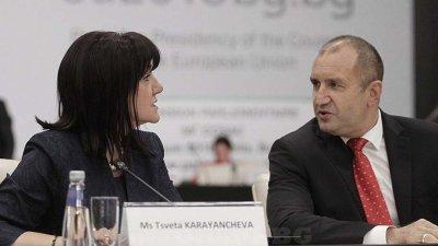 Караянчева: Радев прави циркове, и аз отивам на Шипка