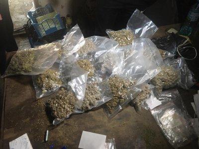 Конфискуваха над половин тон марихуана за над €1 млн. в Северна Македония