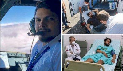 Има Бог! Пилот оцеля в ада на джунглата 36 дни