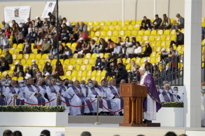 За първи път в Ирак: Папата отслужи най-голямата си меса