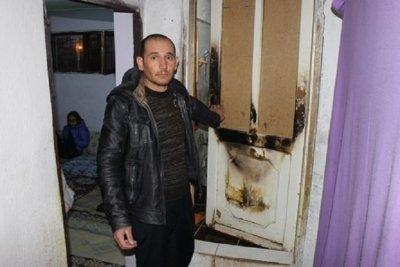 Огнен дух пали къща на турско семейство